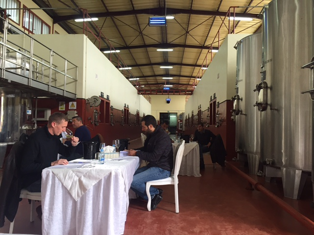 Official tasting of Guerrouane wines in Domaine Zouina